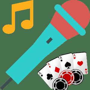 karaoke poker game