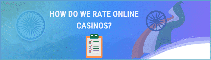 How we rate online casinos