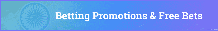betting promotions and free bets