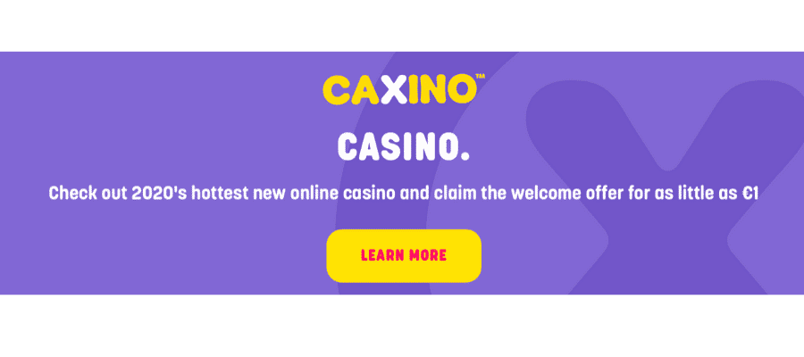 Caxino Casino offers and promotions