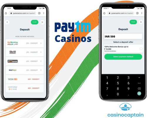 Paytm casinos in India