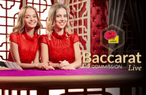 play baccarat commission live