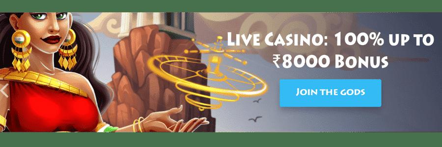 Casino gods review - live casino